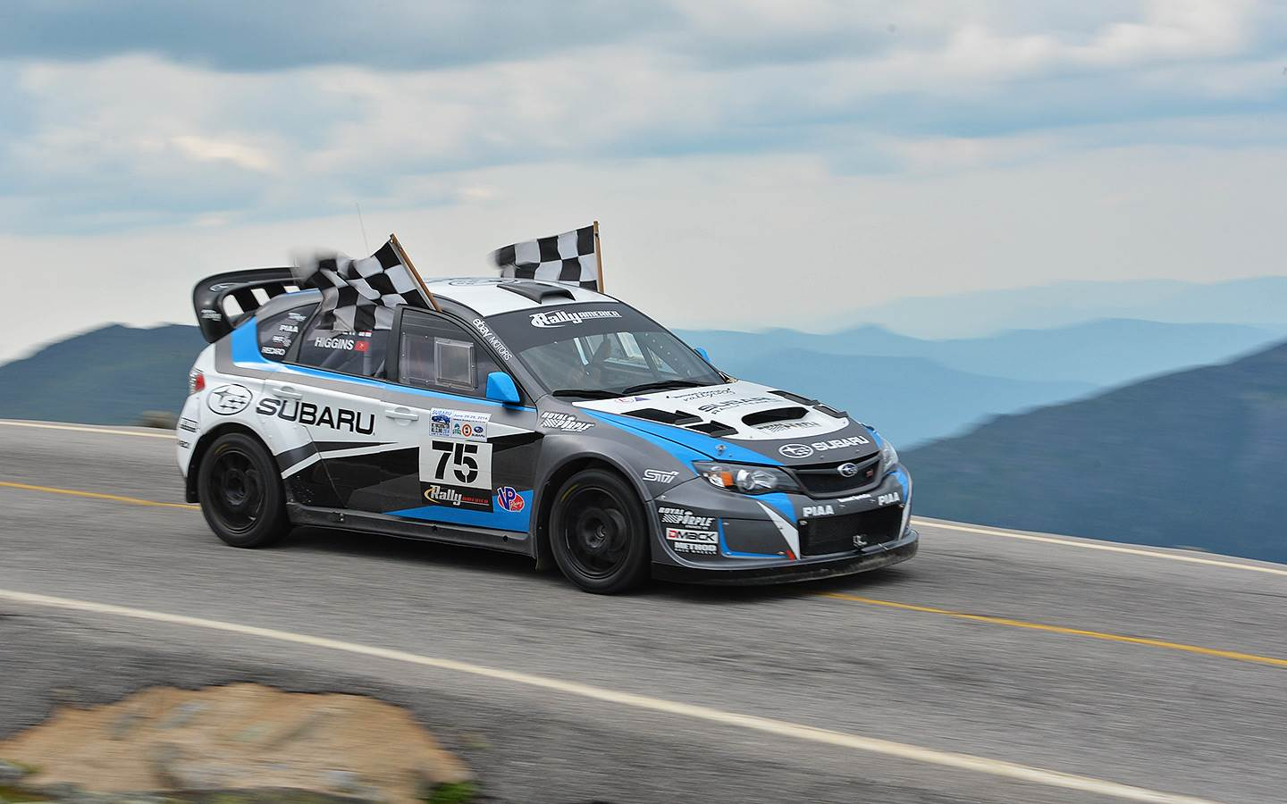 Wrx Sti Launch Control >> All We'll Drive: Higgins aims for Pikes Peak