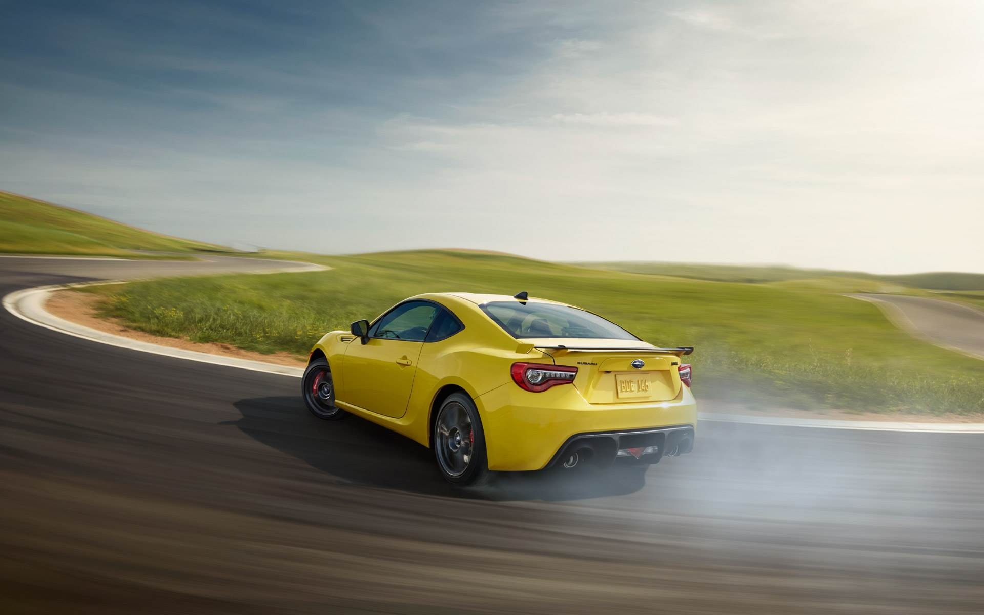 BRZ SERIES.YELLOW drift