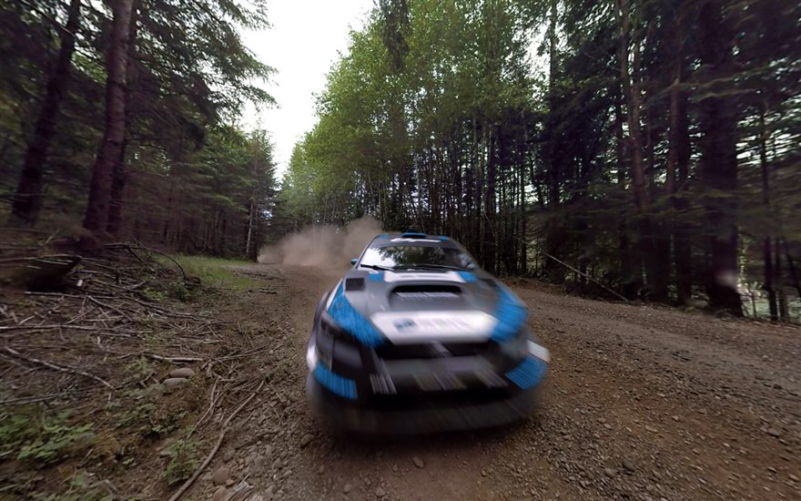 360º Spectating at Olympus Rally