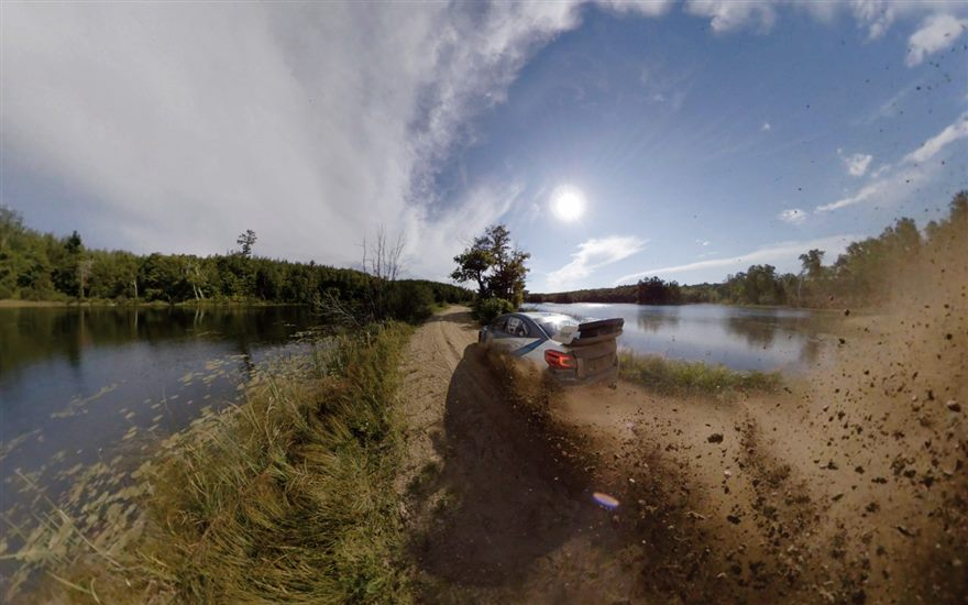 360º Spectating at Ojibwe Forests Rally