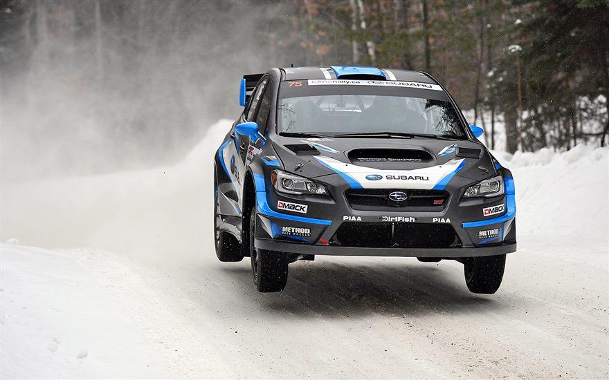 Victory for Subaru Rally Team USA at Inaugural American Rally Association Championship Event Rallye Perce-Neige