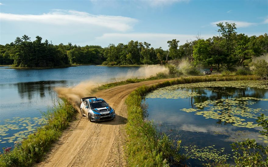 David Higgins and Craig Drew Secure Their Sixth Rally America Championship With a Win at Ojibwe