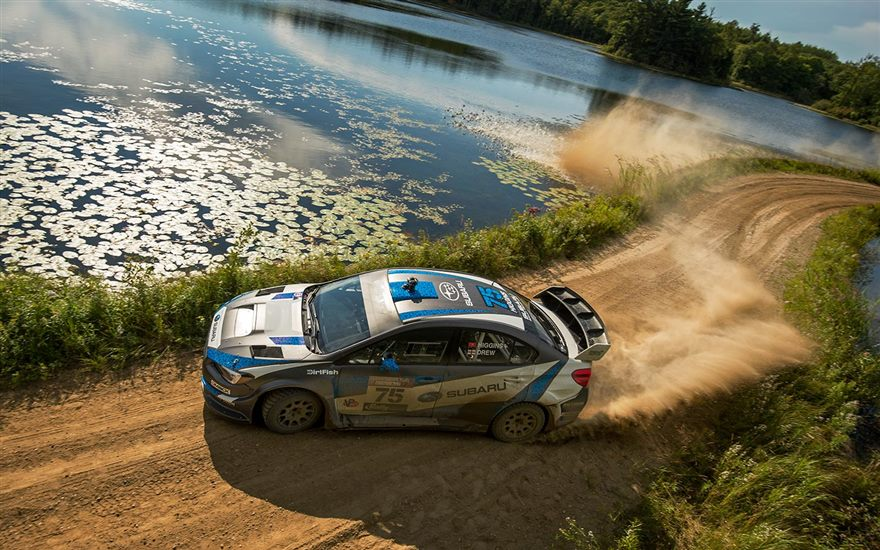Subaru Driver David Higgins Secures 2016 Rally America National Championship with Victory at Ojibwe Forests Rally