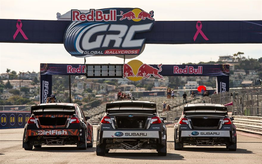 Chris Atkinson Qualifies 4th Fastest at GRC Los Angeles