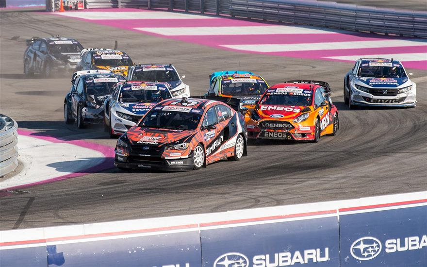Higgins 6th & Atkinson 7th at Red Bull GRC Los Angeles