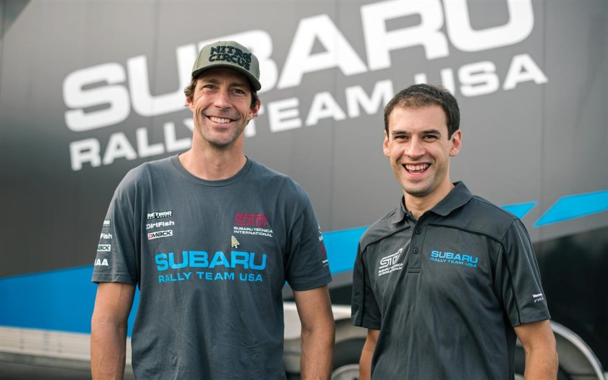 Robbie Durant to Co-Drive for Travis Pastrana at Ojibwe Forests Rally