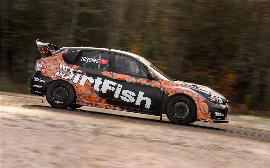 David Higgins Enters GRC Las Vegas with DirtFish!