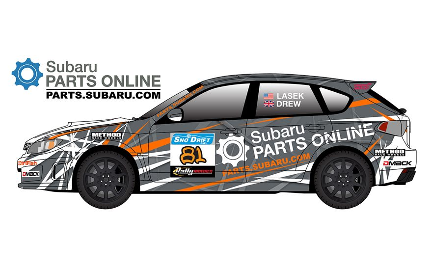Bucky Lasek to Make his Stage Rally Debut at 2016 Sno*Drift Rally