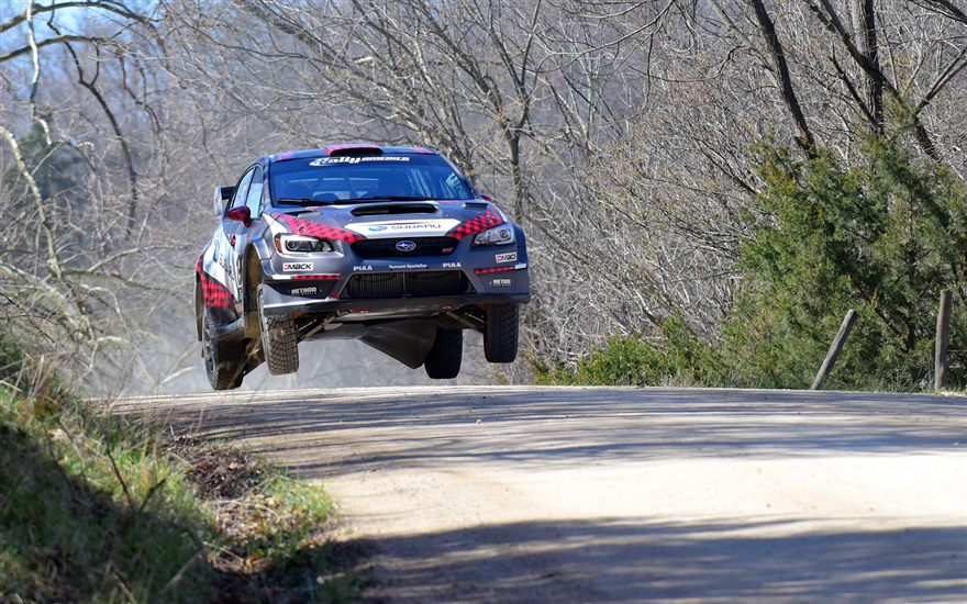 Pastrana & Higgins back in action during testing in Missouri