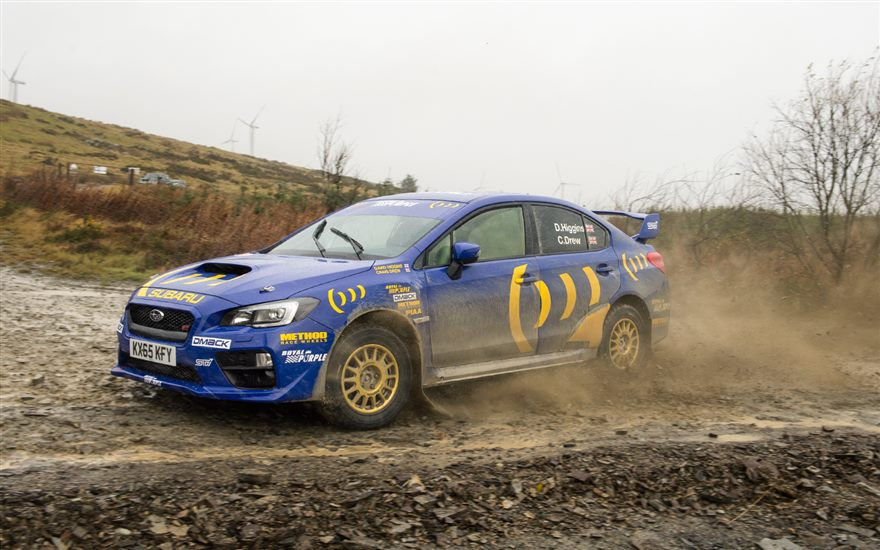 Higgins and Drew Prepare for Wales Rally GB!
