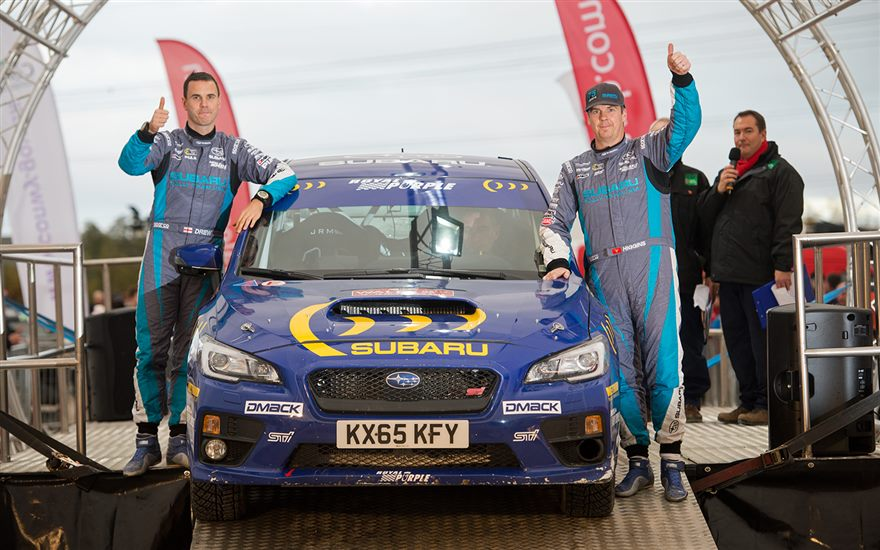 Higgins and Drew 20th at Wales Rally GB