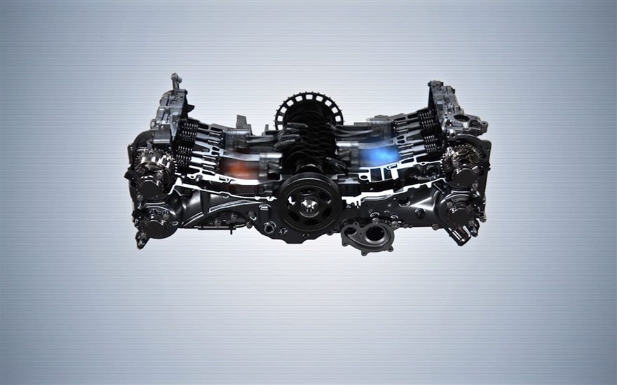 The Motoring World  Subaru U0026 39 S World Famous Boxer Engine Range Celebrates It U0026 39 S 50th Birthday