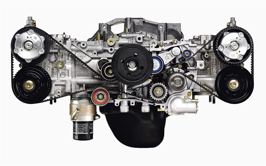 The Motoring World: Subaru's world famous Boxer Engine ...