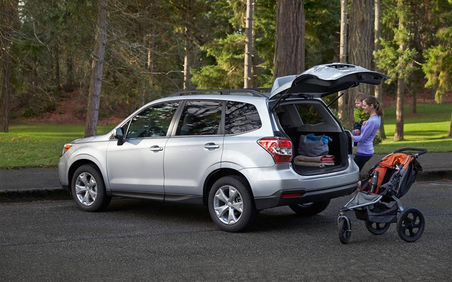 2015 Subaru Forester vs 2015 Toyota Rav4 comparison review by