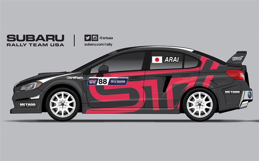 Subaru Rally Team USA Confirms Three-Car Team Entry for Red Bull GRC Los Angeles