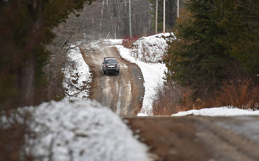 Travis Pastrana & Robbie Durant 2nd at Tall Pines Rally