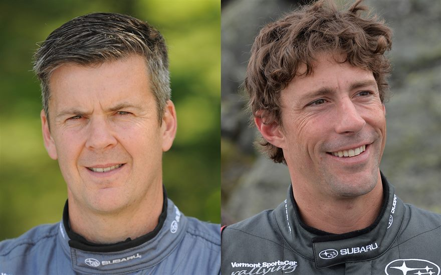 Subaru Confirms Return of David Higgins and Travis Pastrana to Rally America Championship