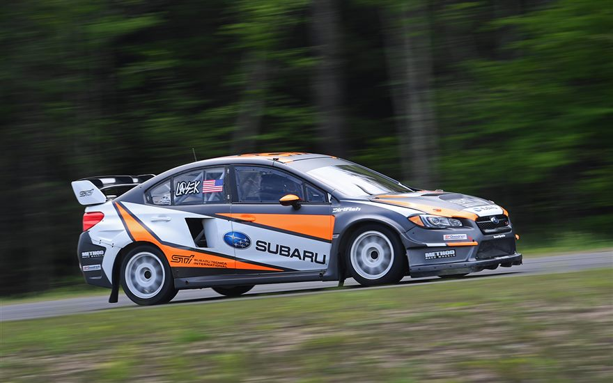 Subaru Rally Team USA Readies for Red Bull GRC at MCAS New River
