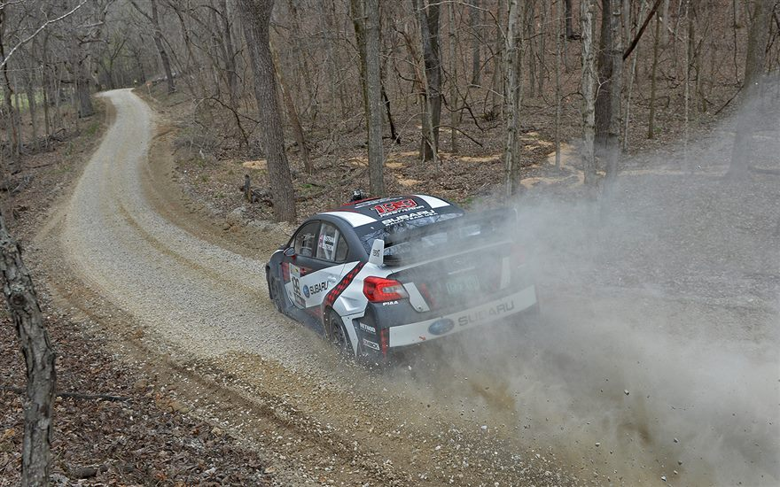 Pastrana & Edstrom in the Lead at 100 Acre Wood after Day 1