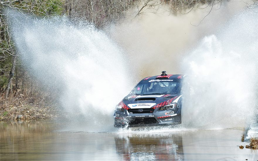 Travis Pastrana & Christian Edstrom Win Rally in the 100 Acre Wood