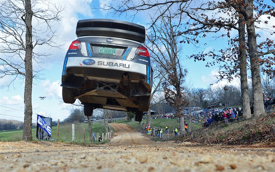 Pastrana edges Higgins in Epic battle at 100 Acre Wood Rally!‏