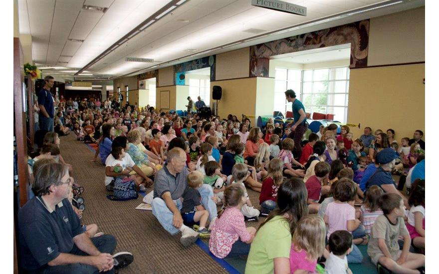 Summer Reading Program with Fayettville Public Library