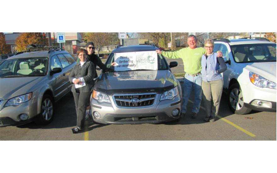 Subaru love promise begins with maple hill subaru in for Loaves and fishes kalamazoo