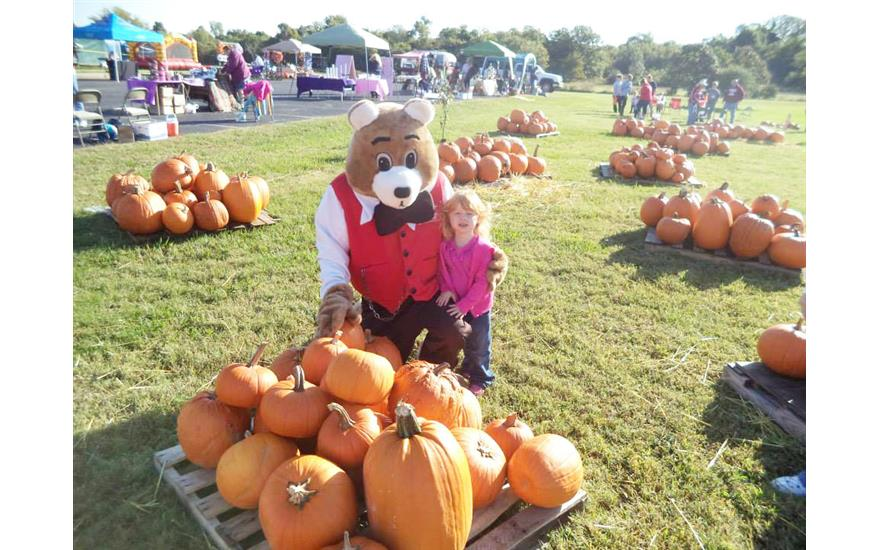 Ferguson Superstore & Fergie Bear Assist at the Local Fall Festival
