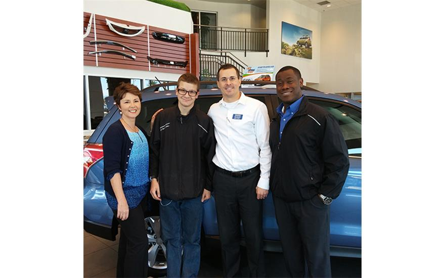 Love Grows As Subaru Connects With Foster Youth